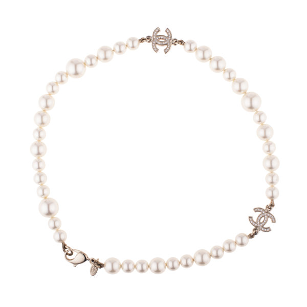 Short pearl necklace Chanel