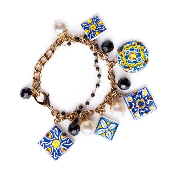 Majolica charm bracelet Dolce&Gabbana
