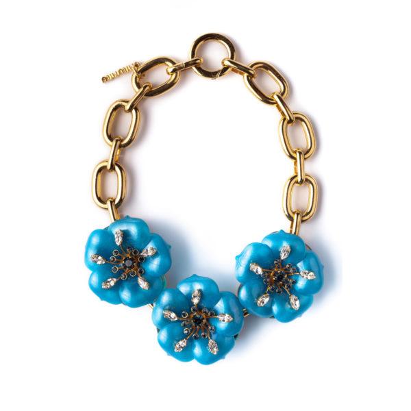Oversized Flower necklace MIU MIU
