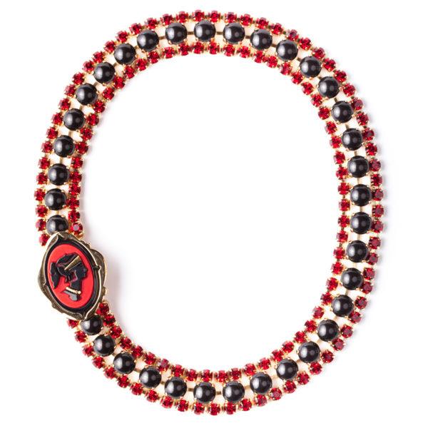Cameo collar necklace Miu Miu