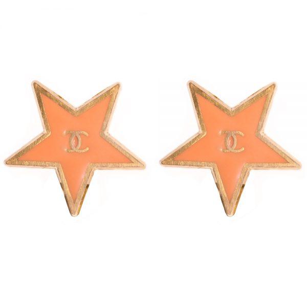 Vintage star earrings Chanel