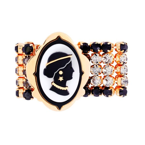 Cameo crystals bracelet Miu Miu