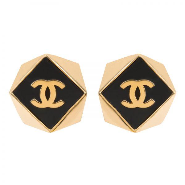 Vintage cube earrings Chanel