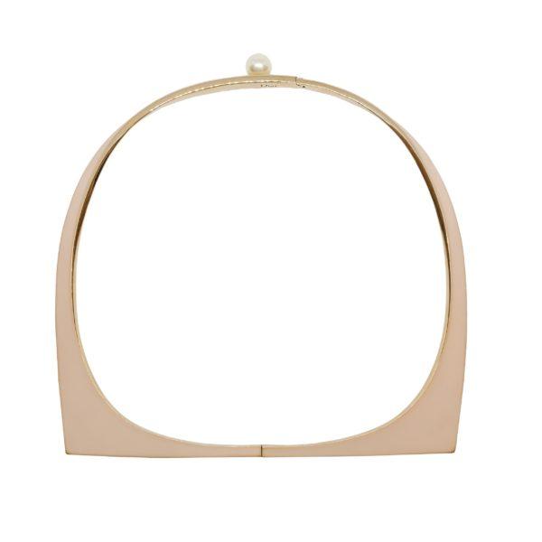 Haute couture single pearl necklace Dior