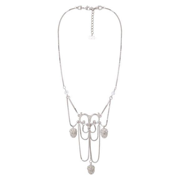 Silver Acorn Necklace Dior