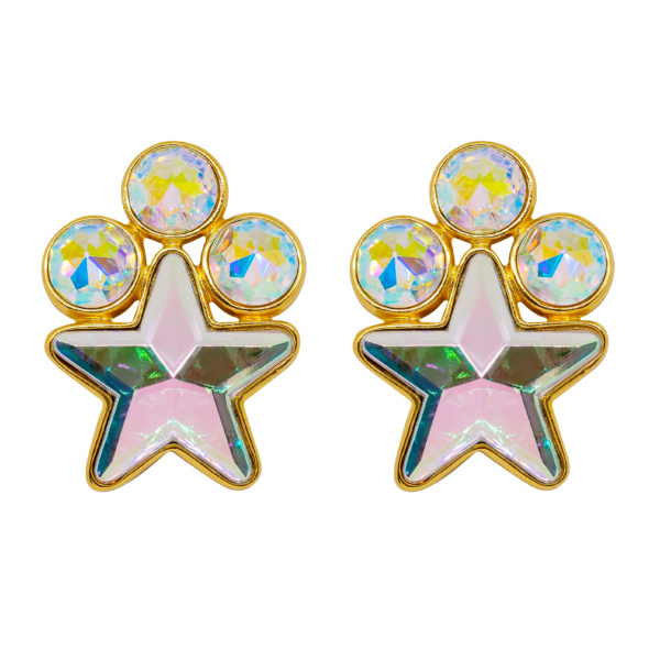 Disco star earrings Yves Saint Laurent