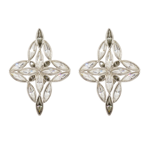 Crystal star XXL earrings Yves Saint Laurent